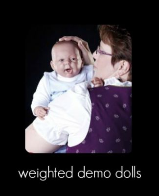weighted demo doll