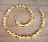 Milky Sunlight Amber Teething Necklace